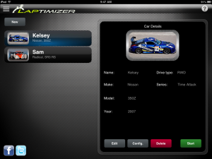 Laptimizer: Manage Multiple Racecars